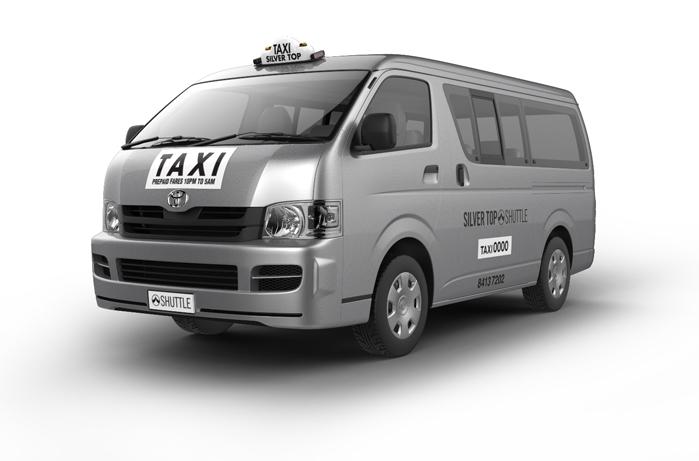 silvertop's maxi taxi cab